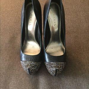 Bakers studded heels
